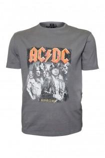 AC/DC Kurzarm-T-Shirt von Replika.