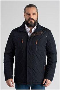 Extra lange nautische Jacke von Plus Man