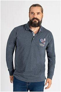 Redfield Langarm-Poloshirt.