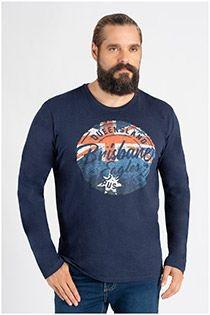Redfield langarm-T-Shirt.