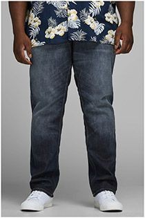 5-Pocket-Stretch-Jeans im Used-Look von Jack & Jones