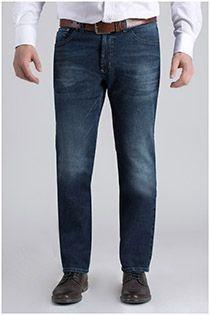 Extra lange 5-Pocket-Jeanshose von Pionier.