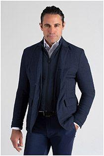 Extra lange elastische Jacke mit abnehmbarem Einsatz