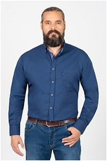 Plusman Uni Langarm-Oberhemd