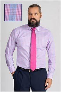 Plusman kariertes Dresshemd