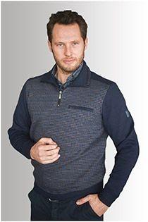 ANGEBOT: Meantime Pullover mit Reißverschlusskragen