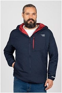 Jack & Jones Outdoorjacke mit Kapuze.