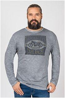 Langarm-T-Shirt von Kitaro.