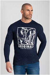 Jack & Jones Langarm-T-Shirt.