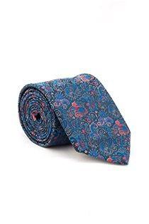 Gemusterte überlange Krawatte von Plusman