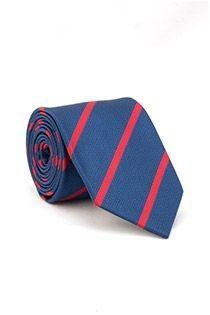 Gestreifte EXTRA LANGE Krawatte von Plus Man.