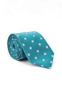Gemusterte extralange Krawatte von Plusman