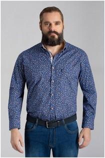 Bedrucktes Langarmhemd von Plusman