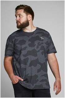 Kurzarm-T-Shirt von Jack & Jones mit Tarnmuster