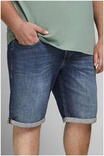 Elastische 5-Pocket Jeans Bermuda von Jack & Jones