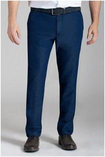 Elastische Jeanshose von Plusman.
