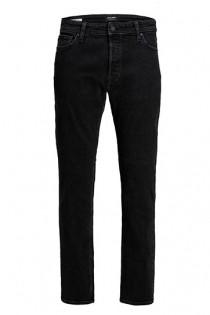 Elastische Black-Denim Jeanshose mit 5 Taschen von Jack & Jones