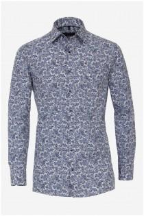 Langarm bedrucktes Hemd von Casamoda