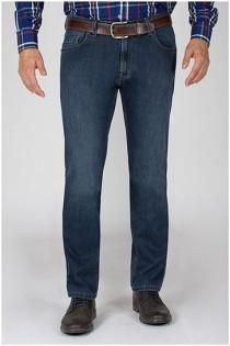 Elastische 5-Pocket Jeanshose von Pionier