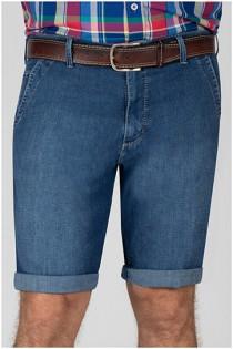 5-Pocket Jeans Bermuda von Pionier