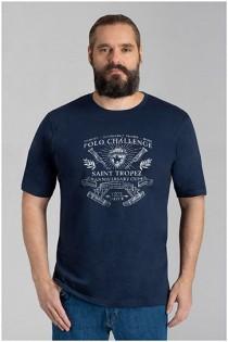 Kurzam-T-Shirt von Hajo