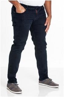 Elastische 5-Pocket-Jeanshose von D555