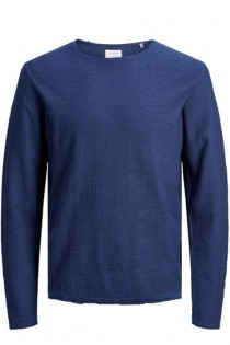 Uni Langarm-T-Shirt von Jack & Jones