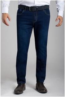 Elastische 5-Pocket Jeans von Plusman