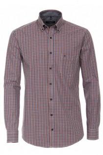 Kariertes Langarmhemd von Casamoda