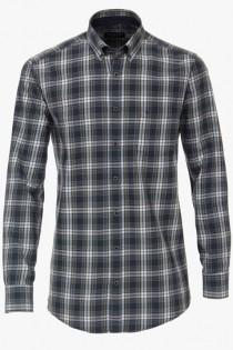 Langarm-Twill-Shirt von Casamoda.