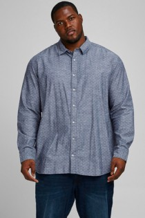Bedrucktes Langarmhemd von Jack & Jones