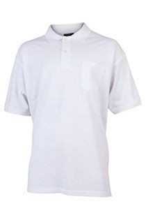 Einfarbiges Kurzarm-Polohemd von Redfield.