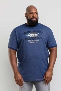 Kurzarm T-Shirt von D555