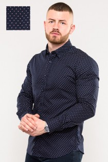 Extra langes Oberhemd von D555