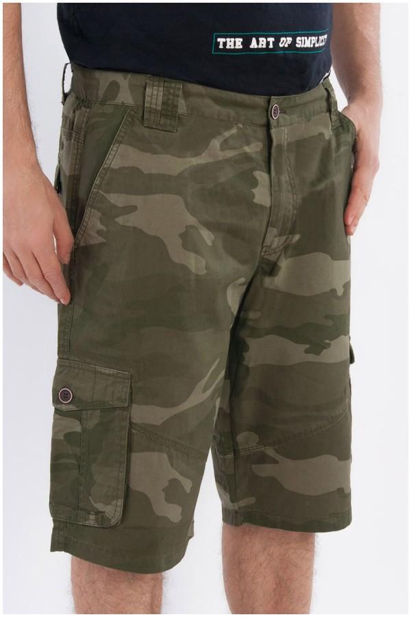 Camouflage Short in große Größen