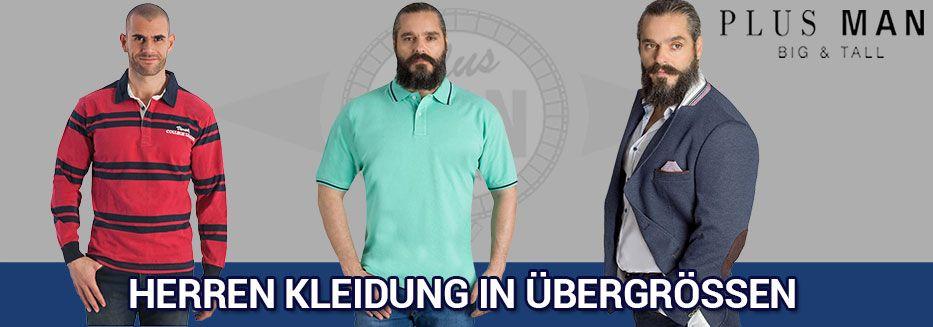 Übergrößen Herrenbekleidung