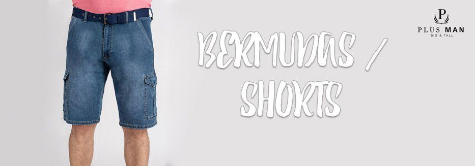 Bermuda-Shorts in große Größen