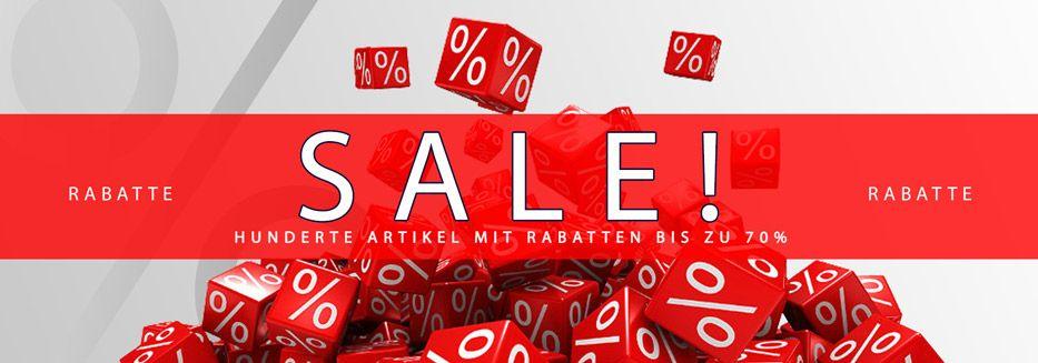 SOMMERSALE mit Rabatten bis 50%!