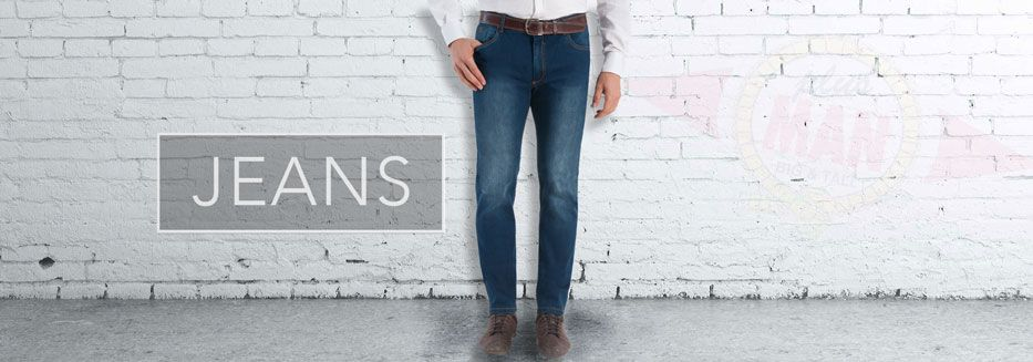 Übergröße Jeanshosen