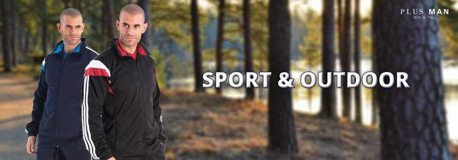 Outdoorbekleidung in großen Größen, Trainingsunzüge, Trainingshosen