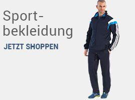Übergrößen Sportbekleidung für Herren