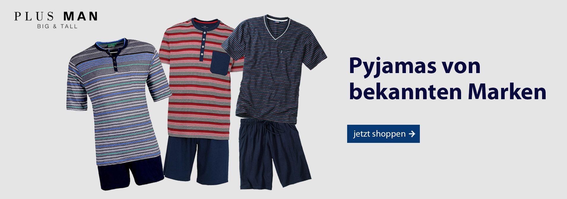 Pyjamas in Übergrößen