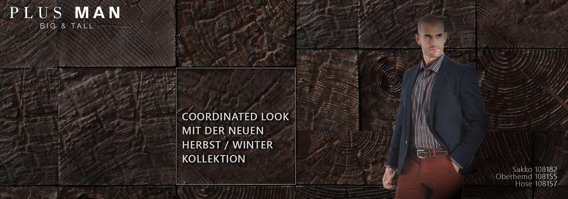 Herbst / Winterkollektion große Größen Herrenbekleidung