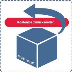 Kostenlos zurücksenden bei Plusman.de