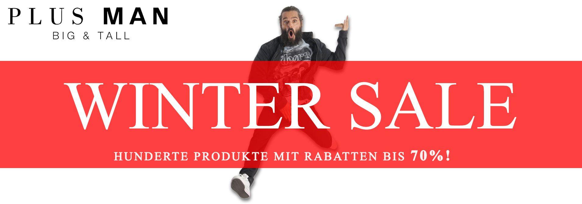 Jetzt der Winter Sale, mit bis zu 70% Rabatt!