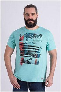 T-shirt in summer green colour